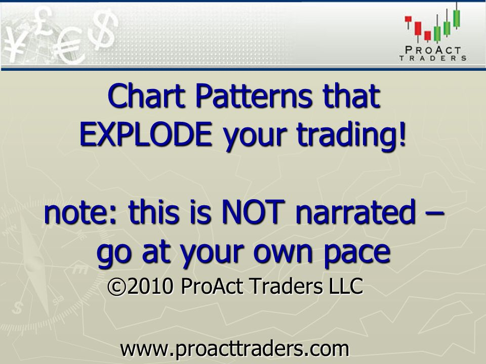 Chart Patterns that EXPLODE your trading.