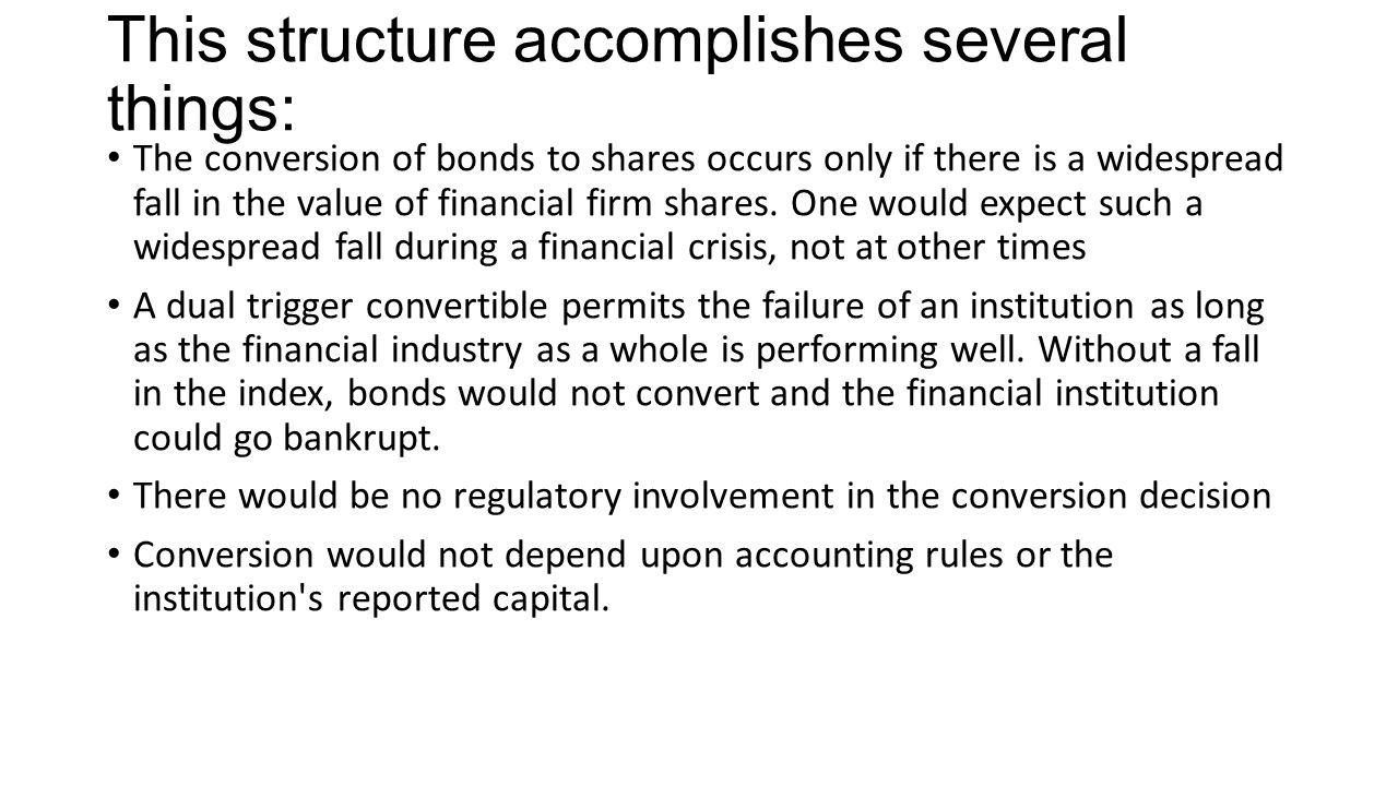 Any contingent capital scheme can fail.