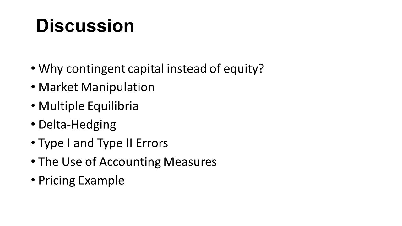 Opponents of an increase in the capital ratio commonly argue that equity capital is expensive.