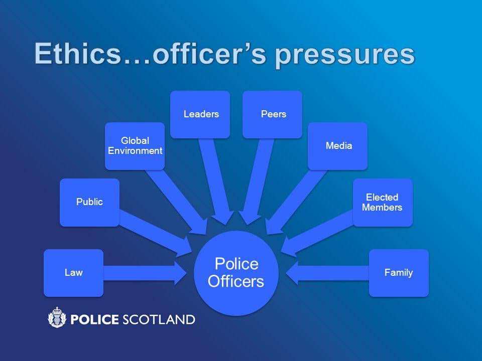 Police Officers LawPublic Global Environment Leaders Peers Media Elected Members Family
