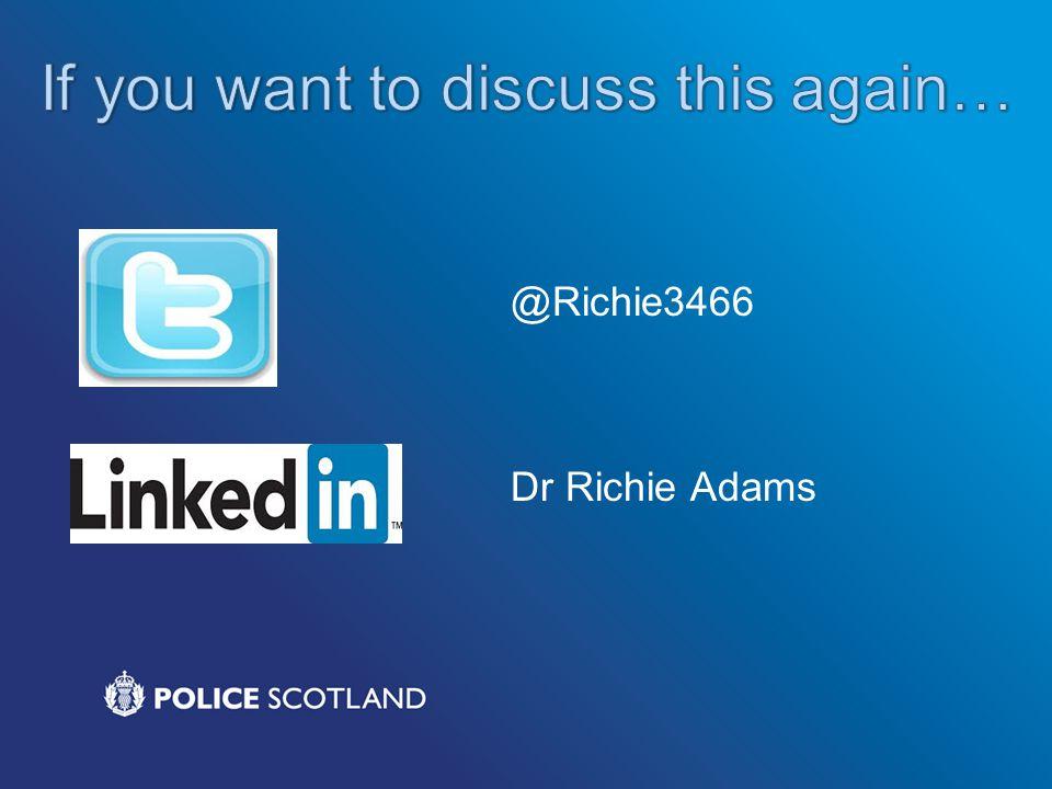 @Richie3466 Dr Richie Adams