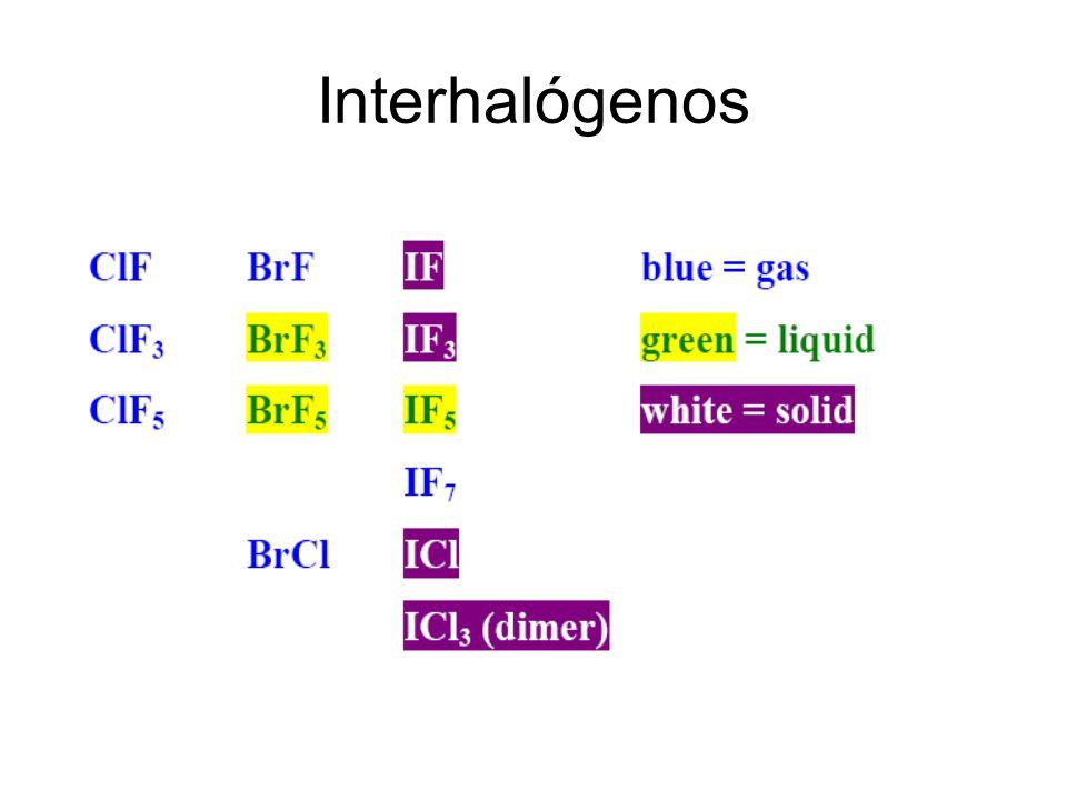 Interhalógenos