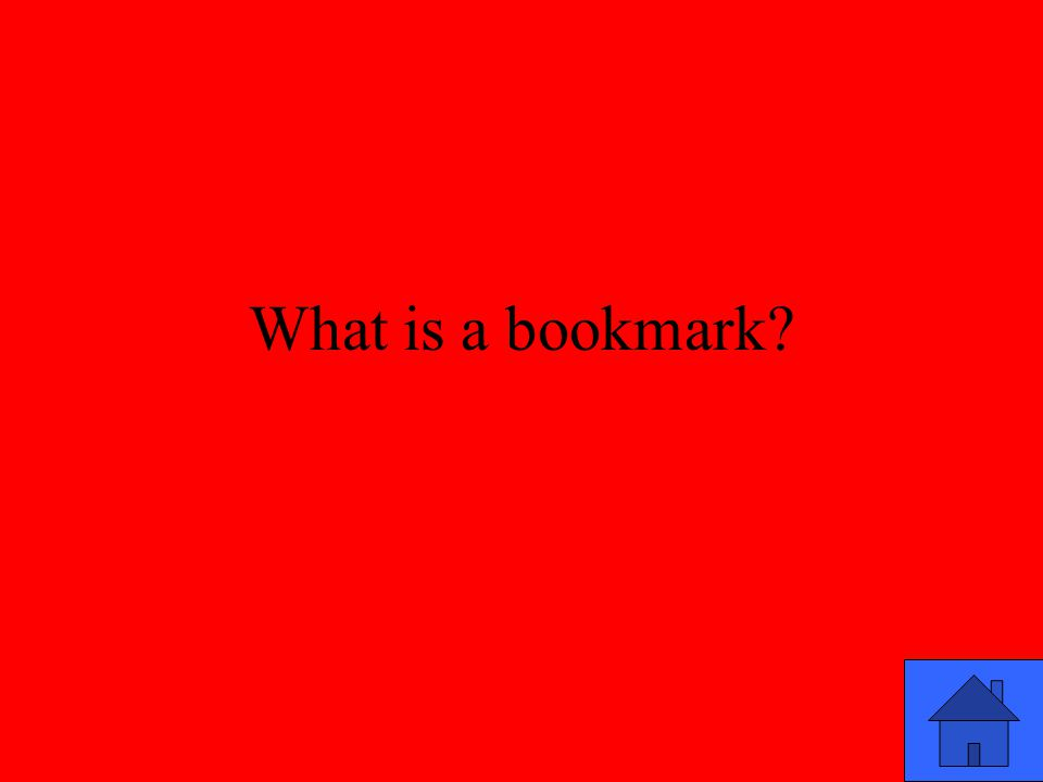 What is a bookmark