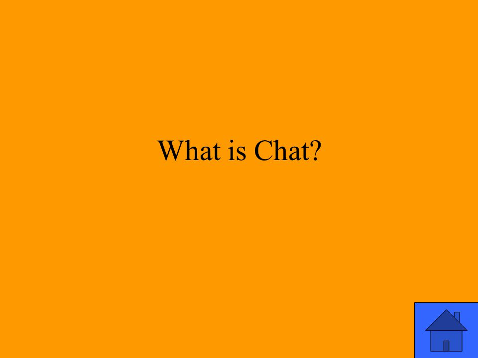 What is Chat