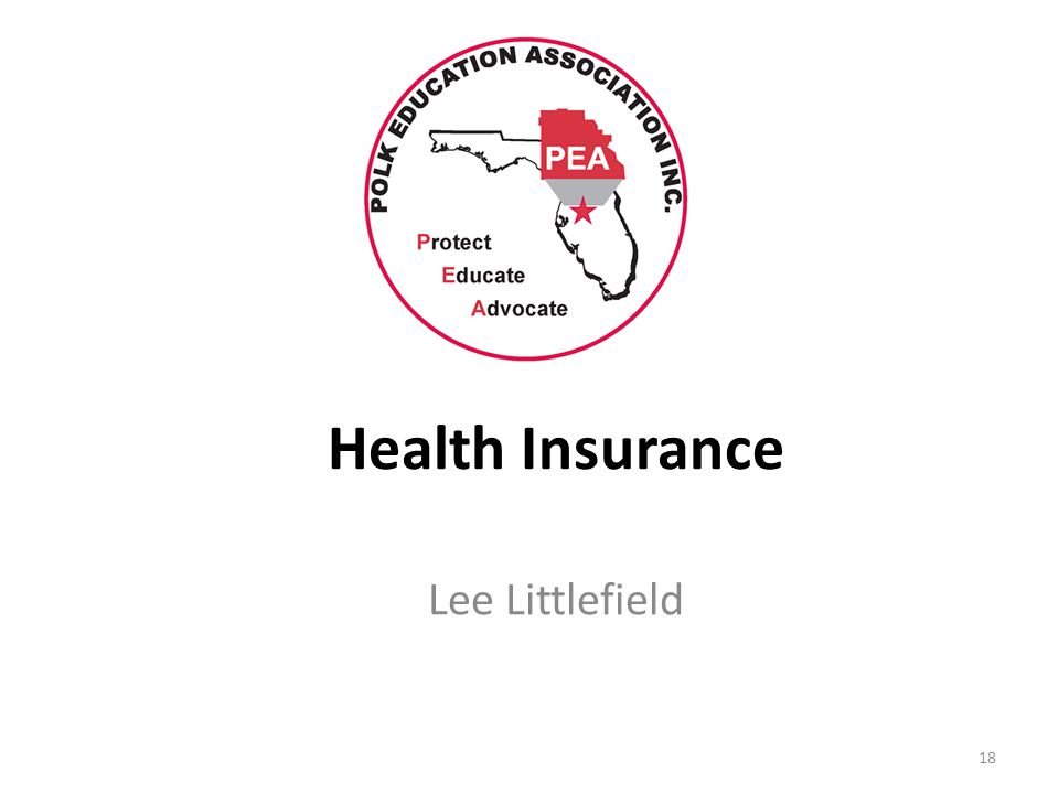 Health Insurance Lee Littlefield 18