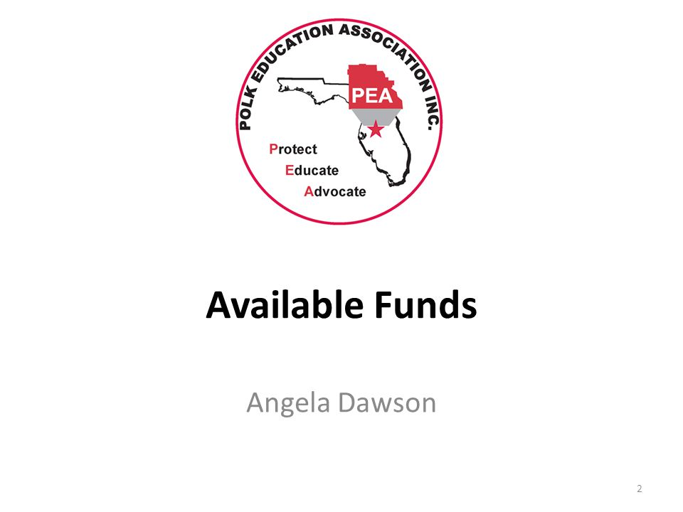 Available Funds Angela Dawson 2