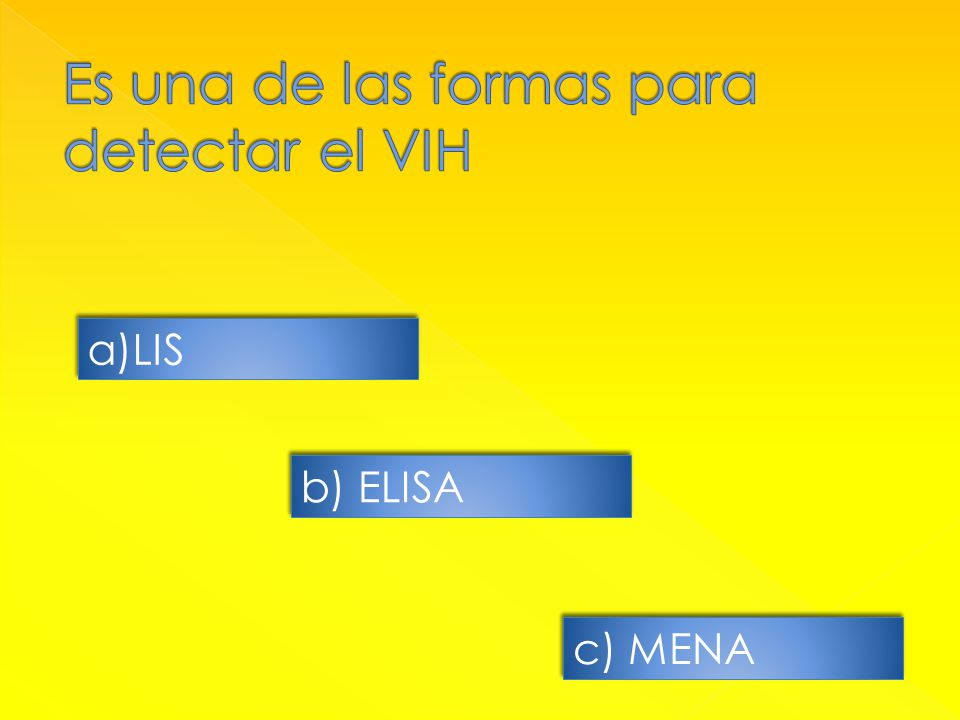 a)LISLIS a)LISLIS b) ELISA c) MENA