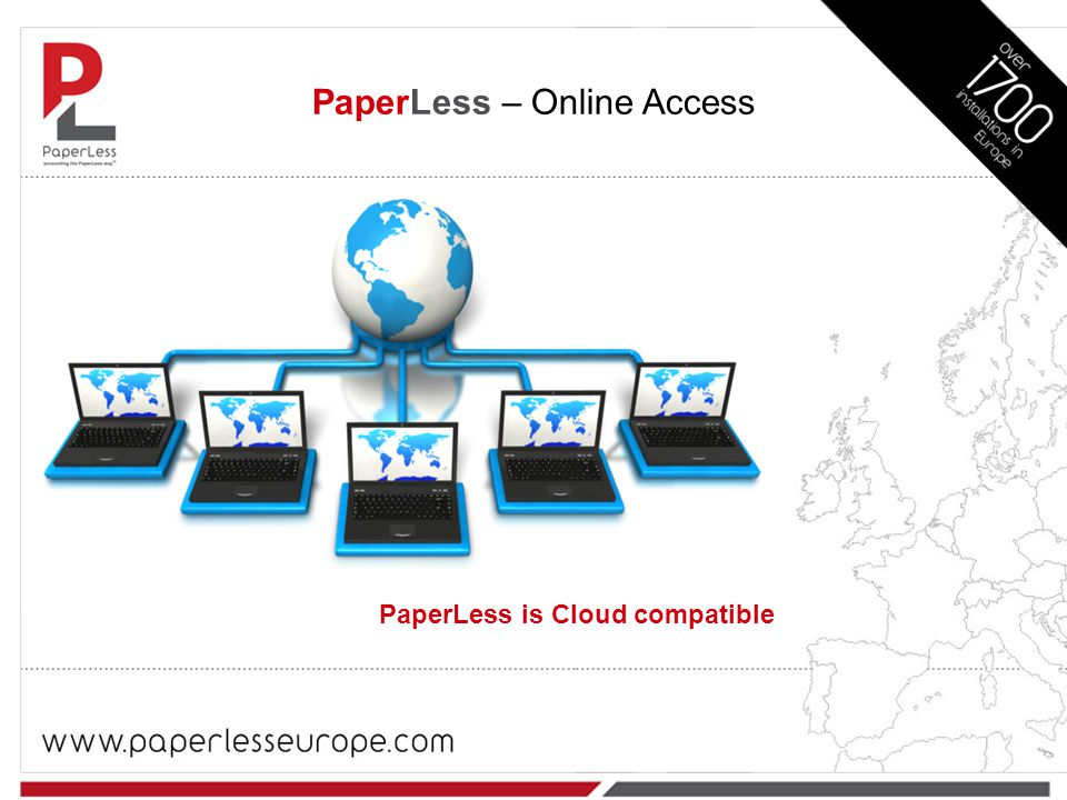 PaperLess is Cloud compatible PaperLess – Online Access