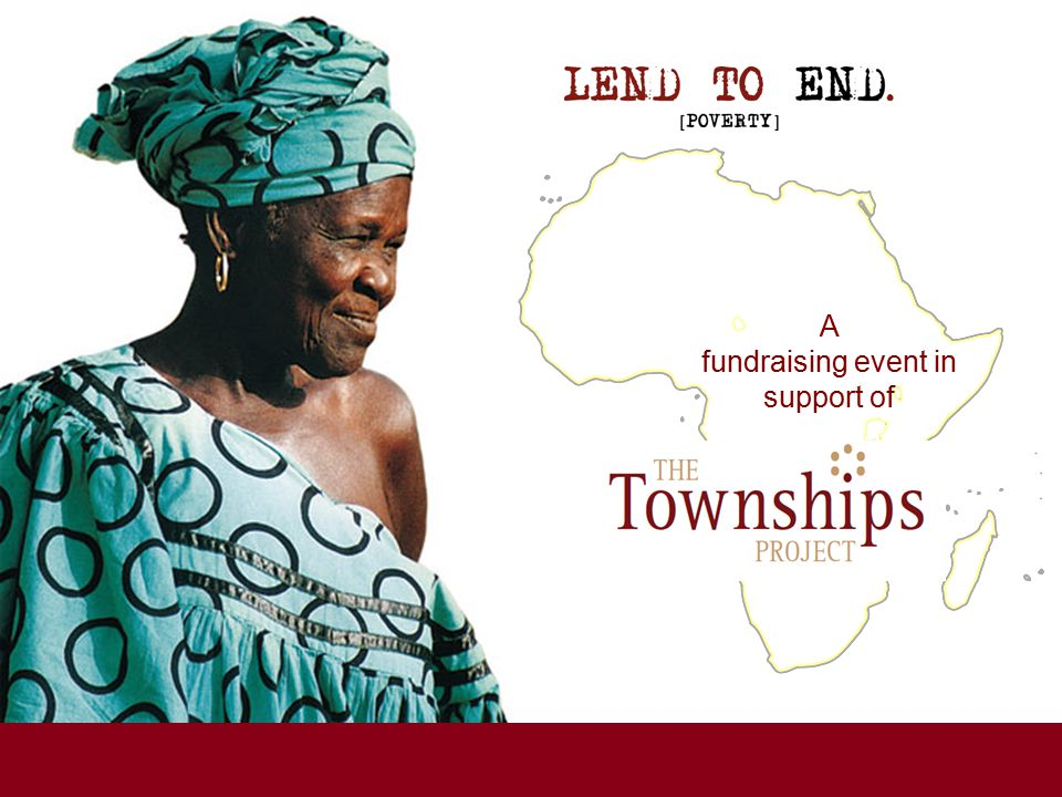 A fundraising event in support of