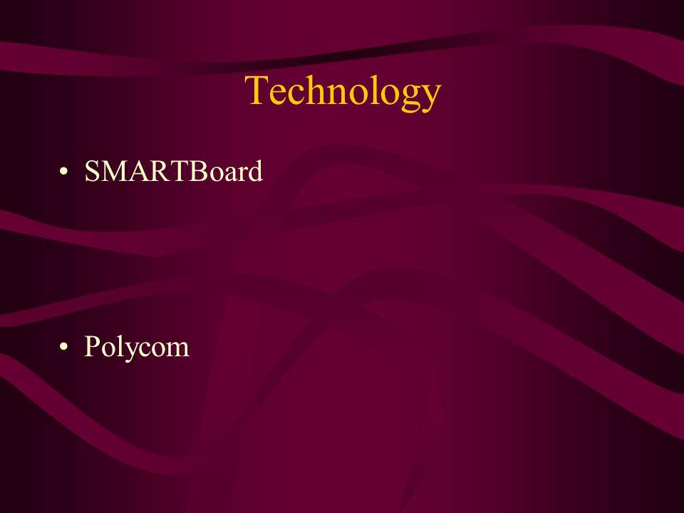 Technology SMARTBoard Polycom