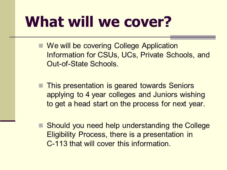Applying to a CSU www.csumentor.edu