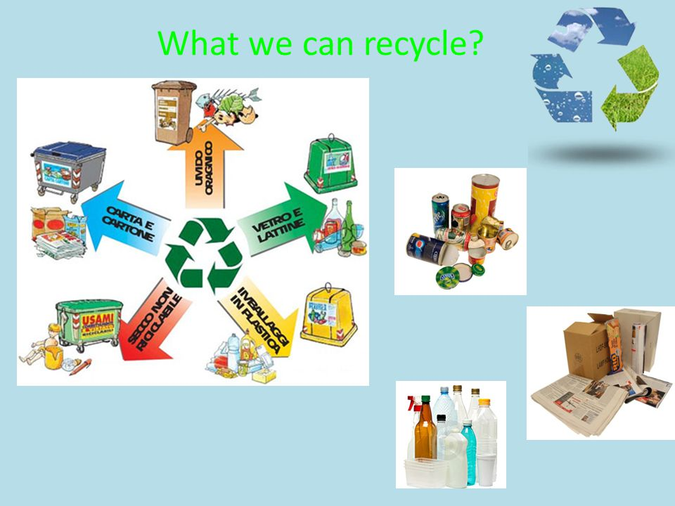 What we can recycle?