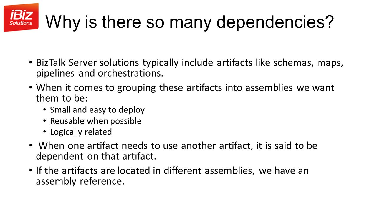 Why is there so many dependencies.