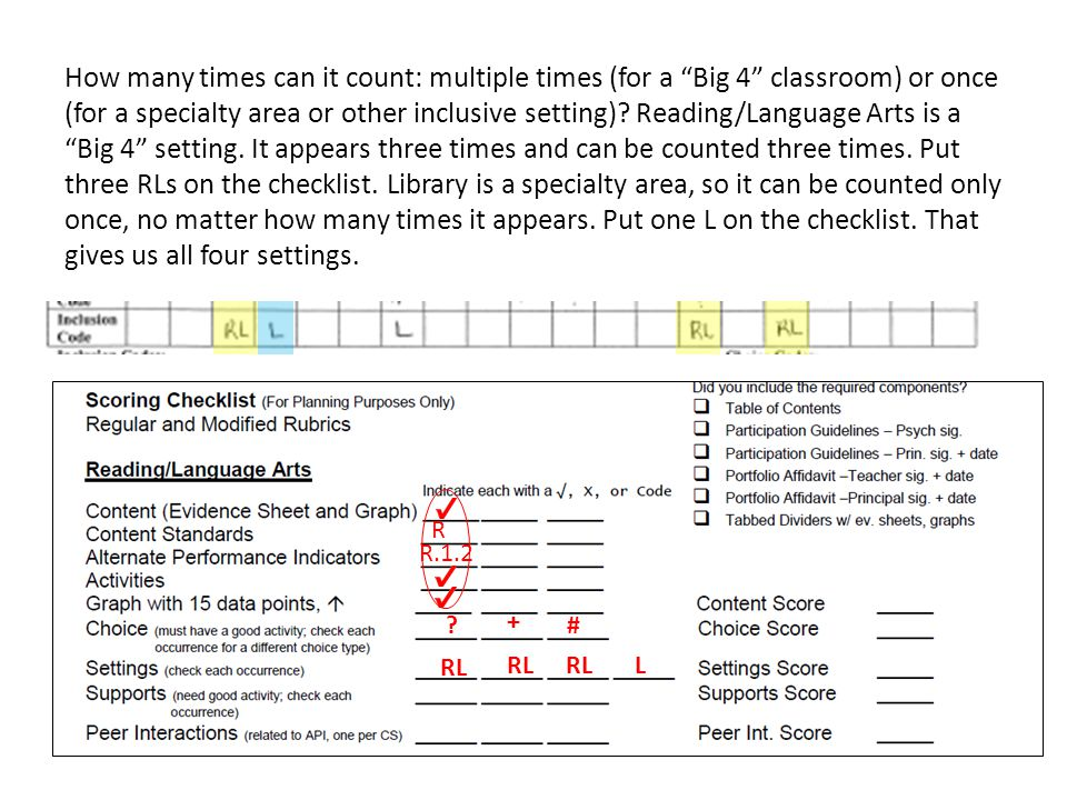 How many times can it count: multiple times (for a Big 4 classroom) or once (for a specialty area or other inclusive setting).