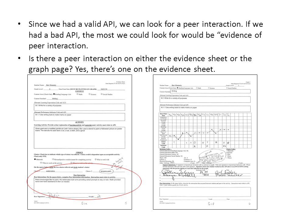 Since we had a valid API, we can look for a peer interaction.