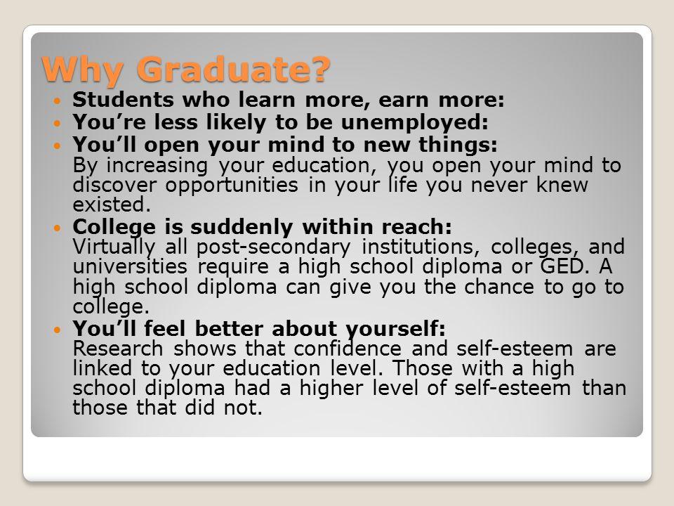 Why Graduate.
