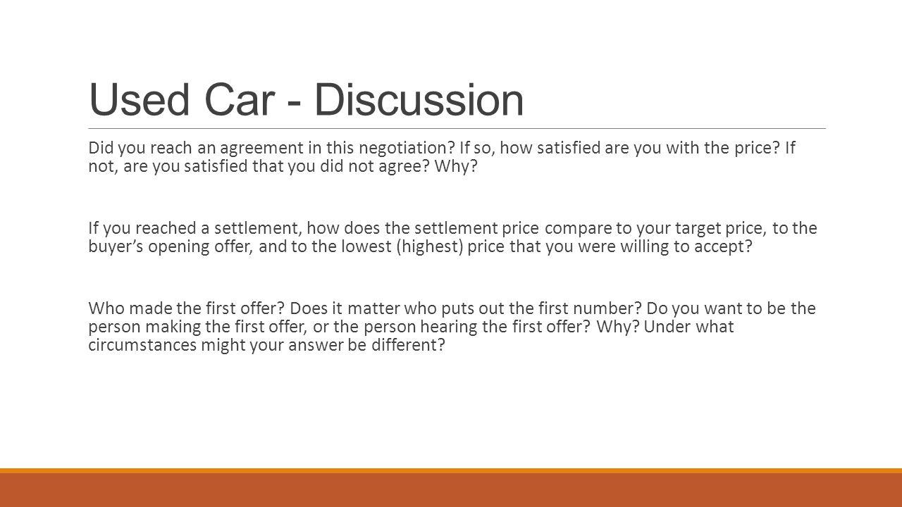 Take away Distributive Bargaining This type of negotiation is called distributive bargaining.