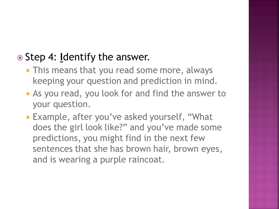  Step 4: Identify the answer.
