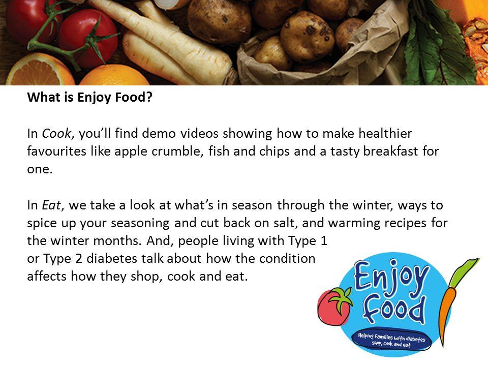 What is Enjoy Food.