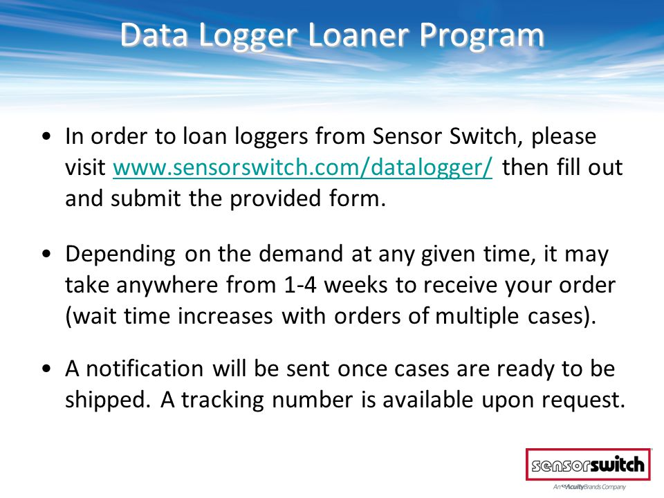 Managing Your Data Open the Data Logger software suite via the icon on your desktop Click User Job/Project Databases Login with the credentials selected when initially registering.