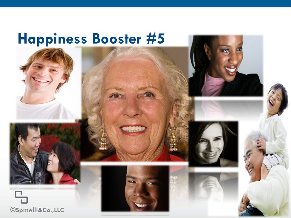 Happiness Booster #5 ©Spinelli&Co.,LLC