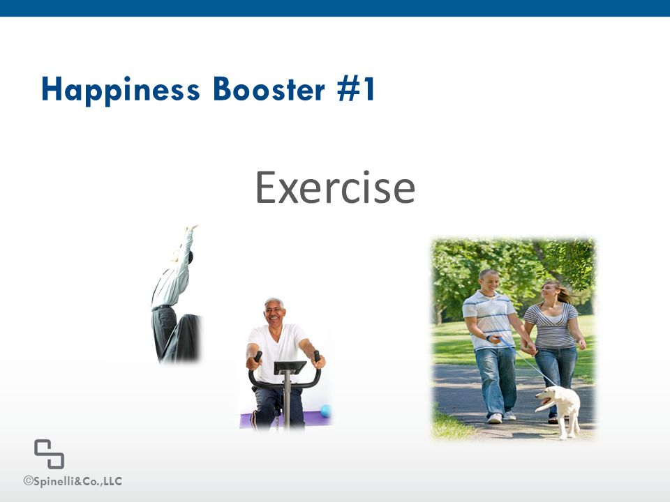Happiness Booster #1 Exercise ©Spinelli&Co.,LLC