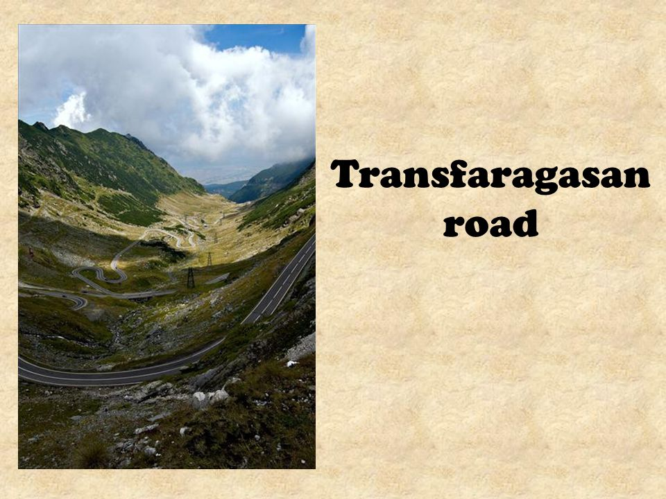 The Transfagarasan was built between 1970 and 1974 by military forces.