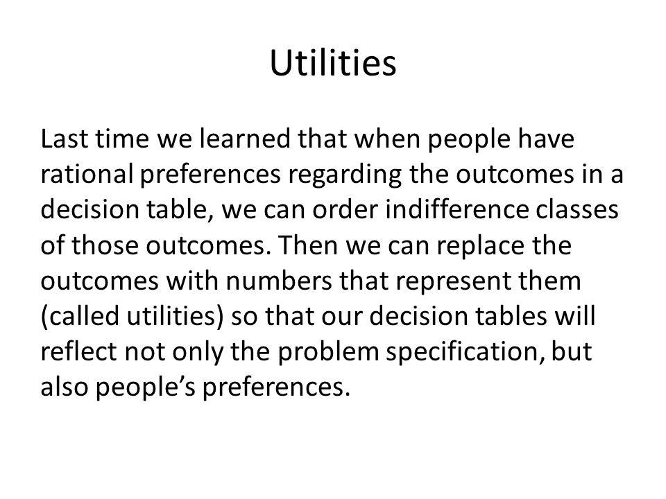 Optimism vs.