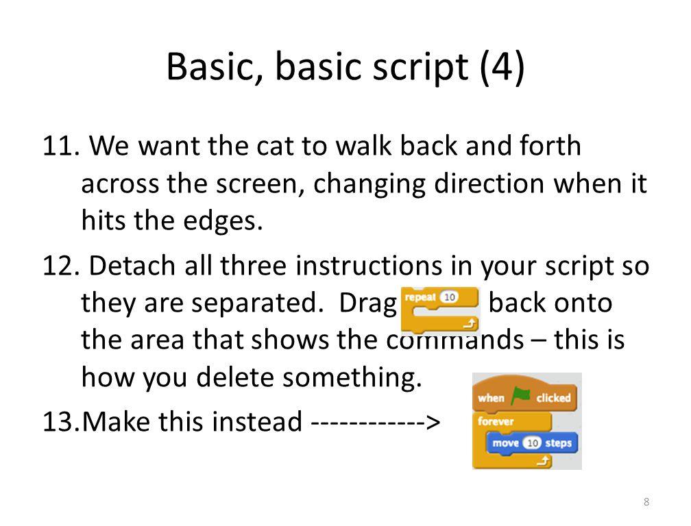 Basic, basic script (4) 11.