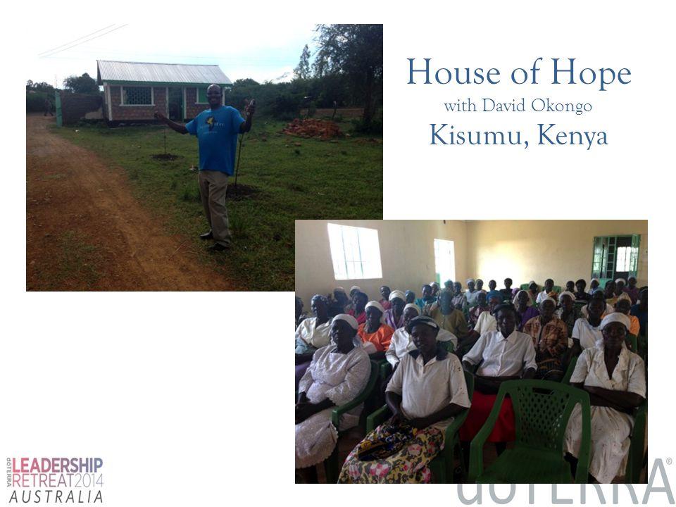 House of Hope with David Okongo Kisumu, Kenya