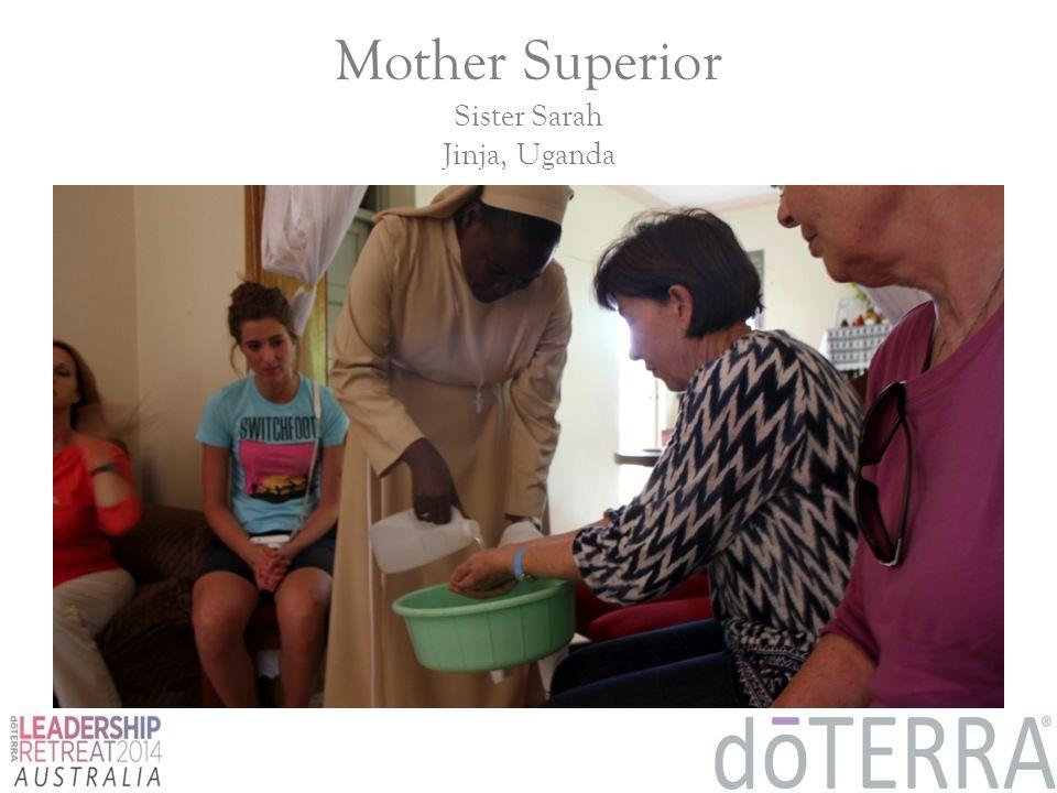 Mother Superior Sister Sarah Jinja, Uganda