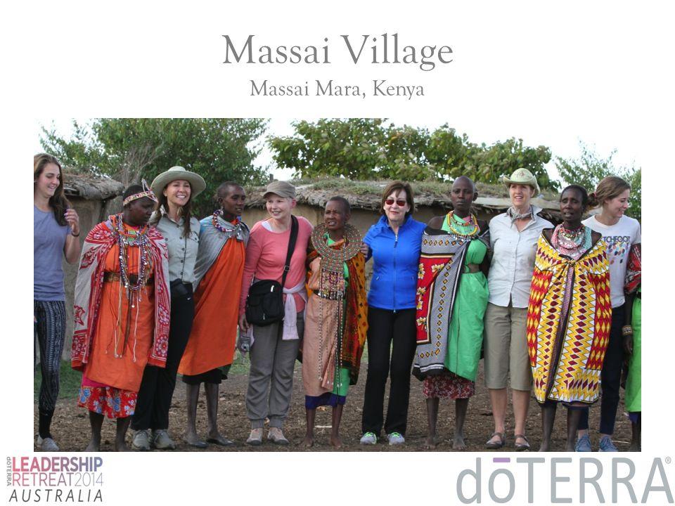 Massai Village Massai Mara, Kenya