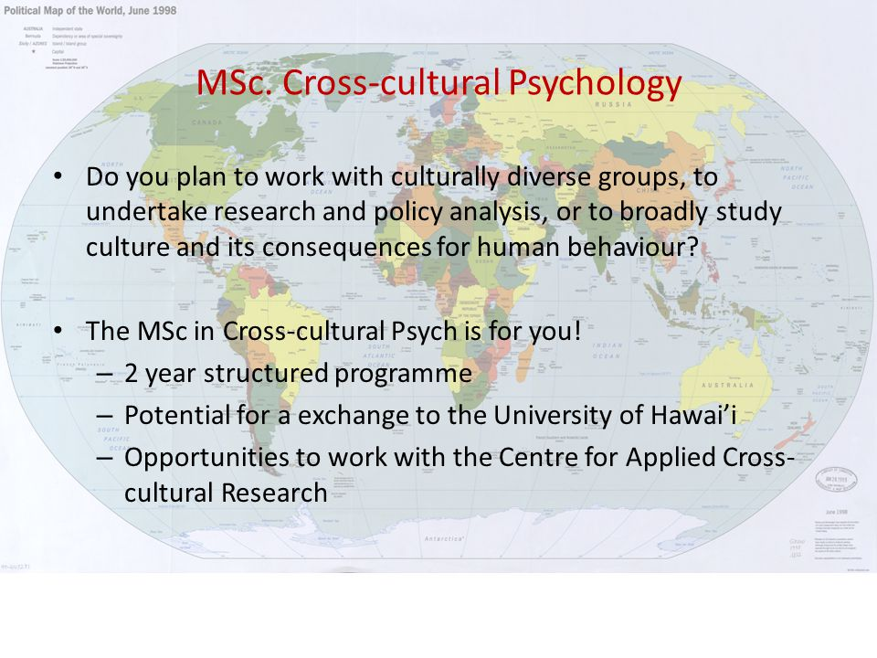 MSc in Forensic Psychology Who is it for.