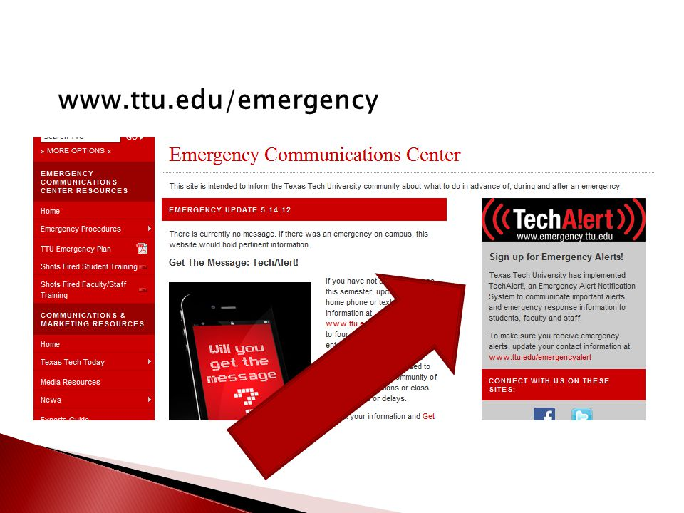 www.ttu.edu/emergency