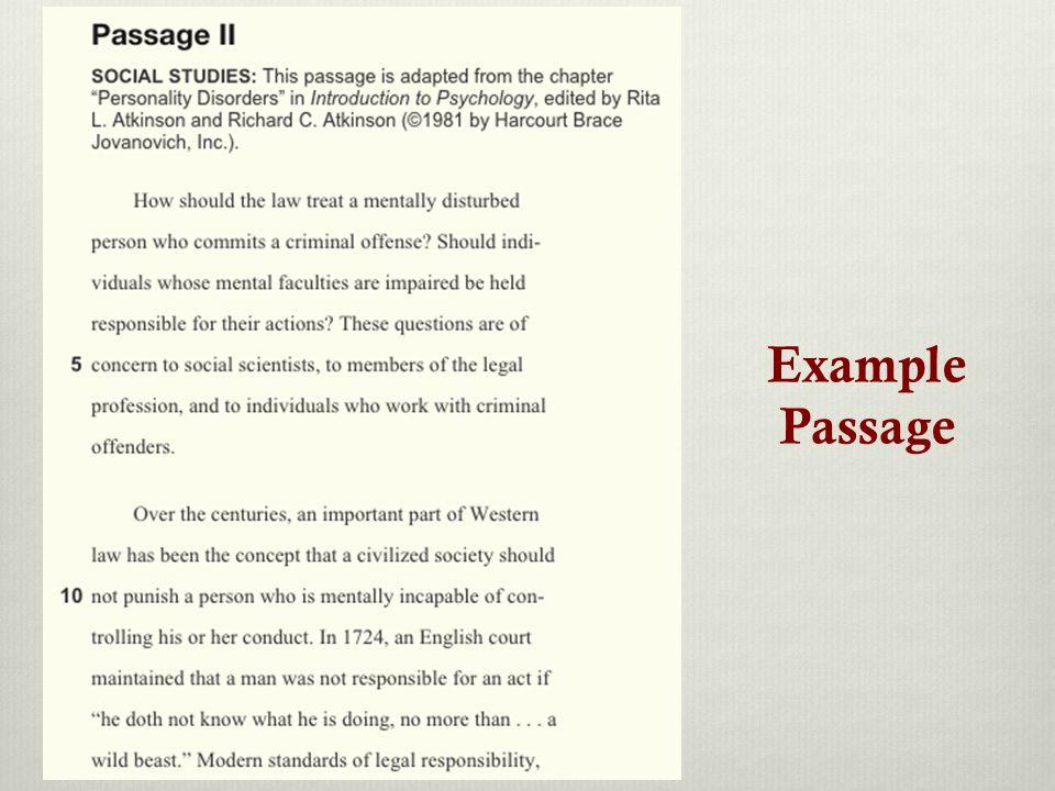Example Passage