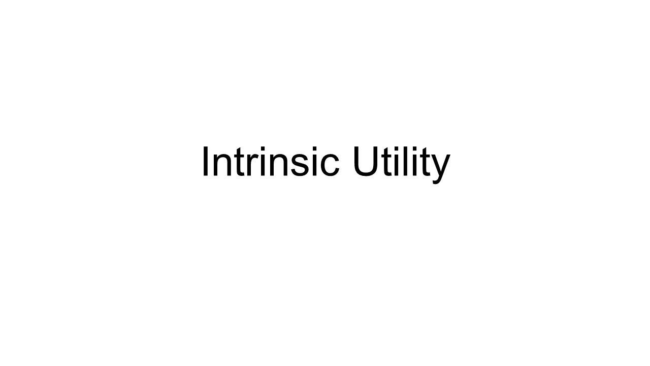 Intrinsic Utility