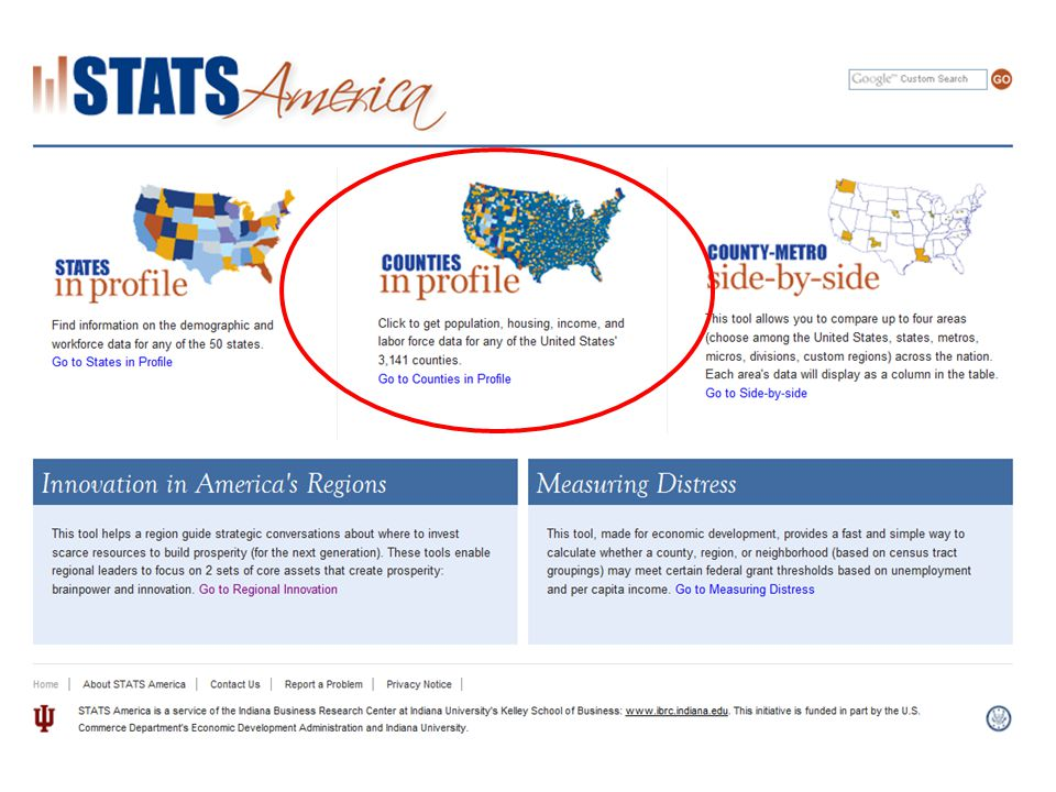Census Tracts Easy to select using map or drop downs 49