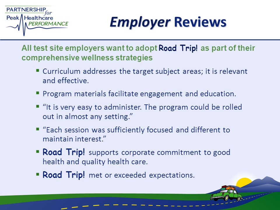 Employer Reviews  Curriculum addresses the target subject areas; it is relevant and effective.