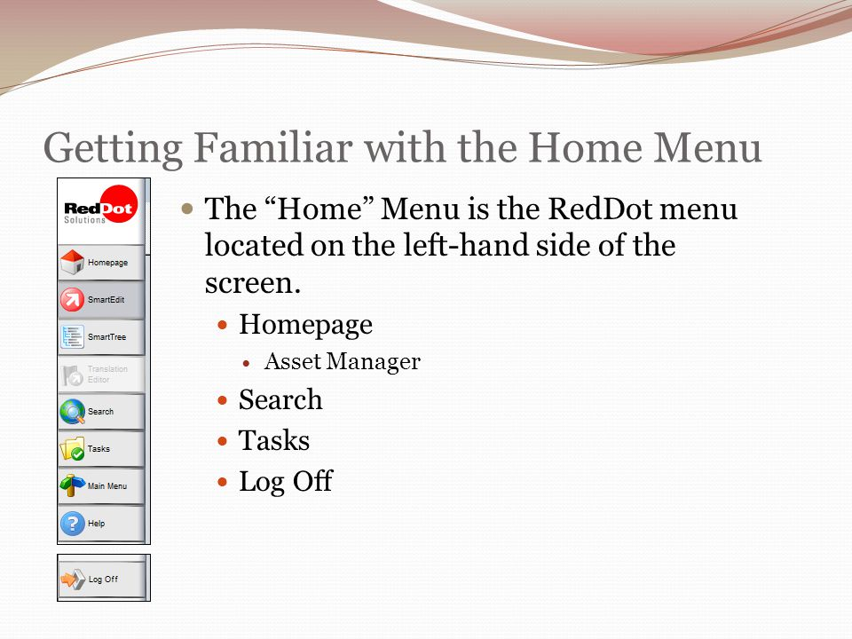 Best Practices Determine the layout of your page prior to putting it in RedDot.