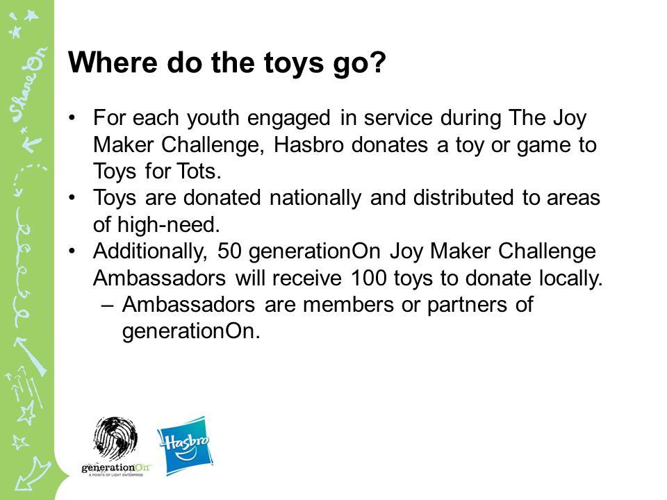 Where do the toys go.