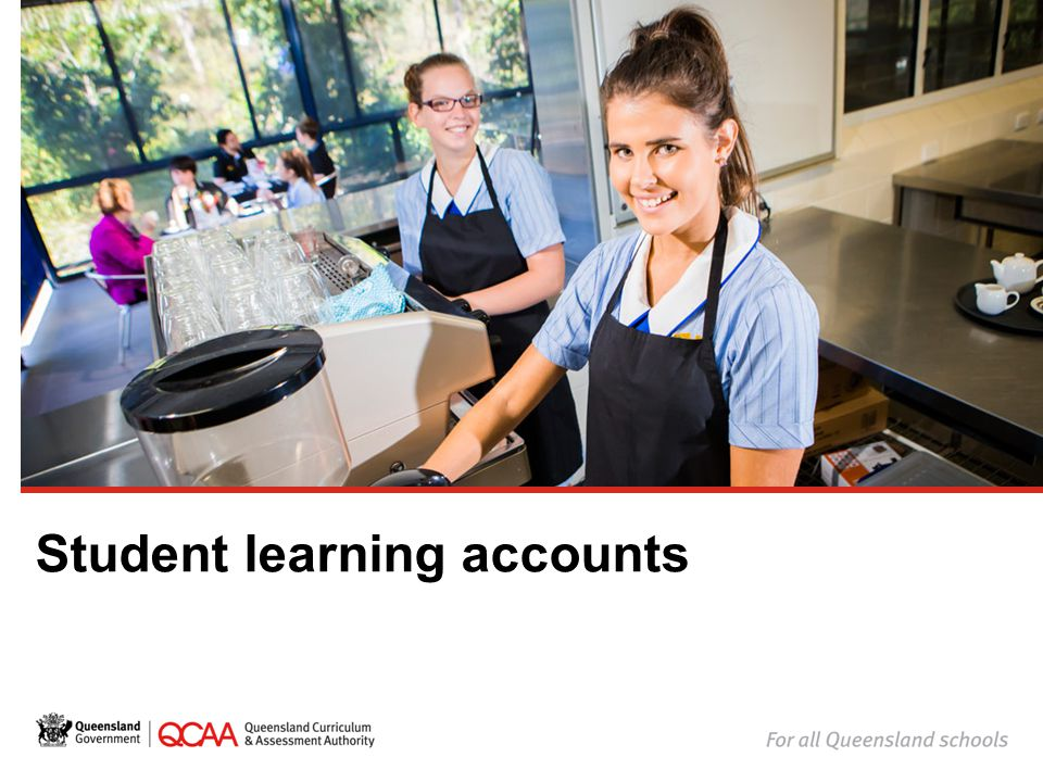 Student learning accounts