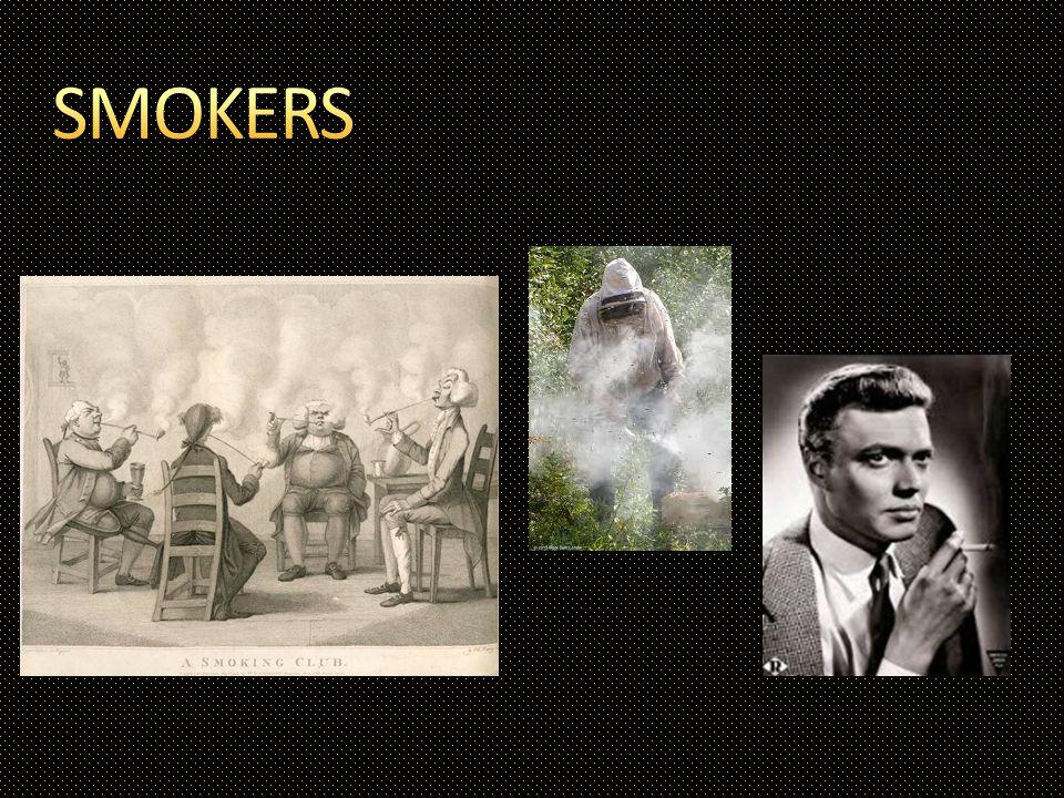 Smoke masks bee pheromones.