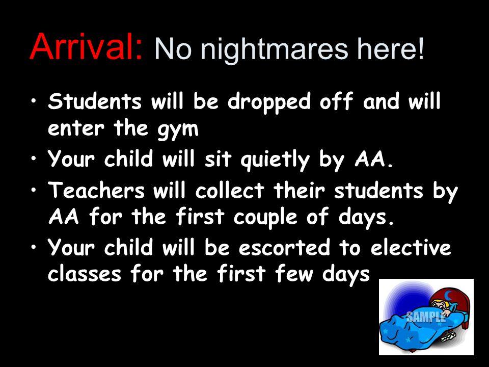 Arrival: No nightmares here.
