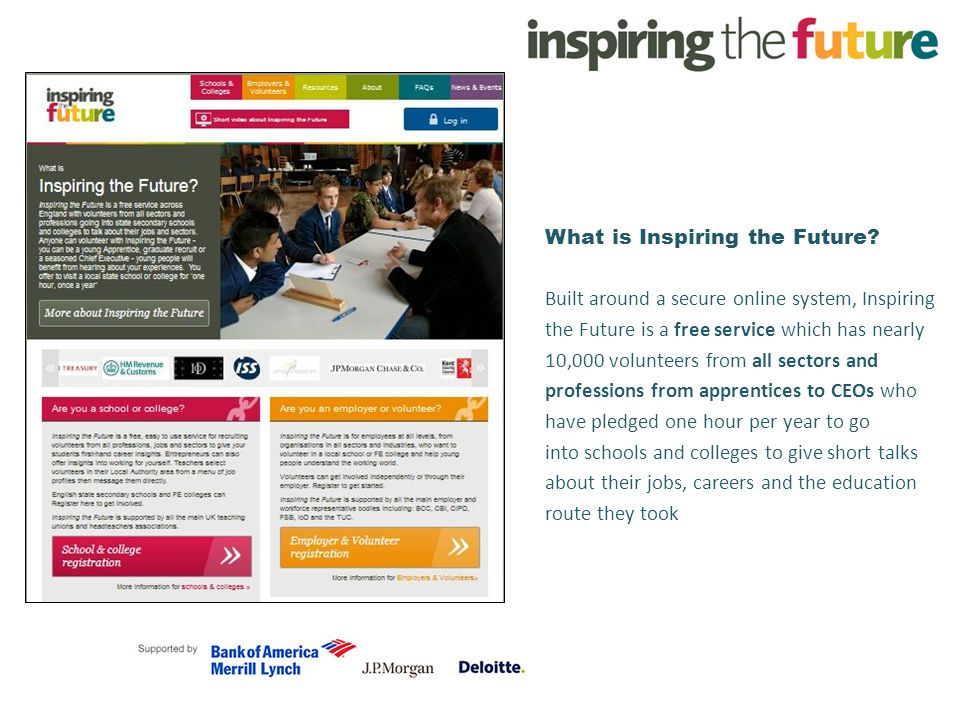 What is Inspiring the Future.