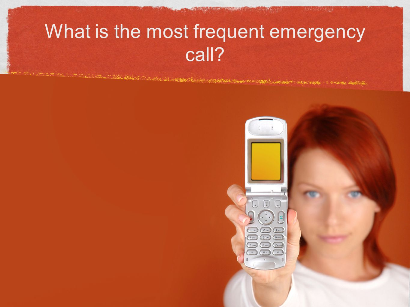 What is the most frequent emergency call