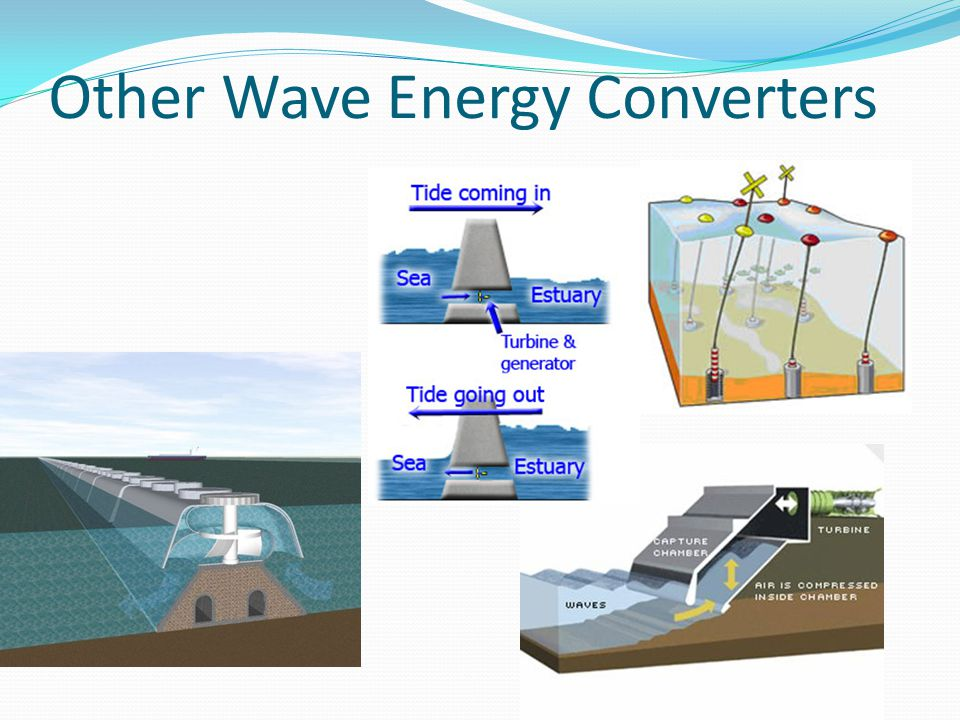 Other Wave Energy Converters