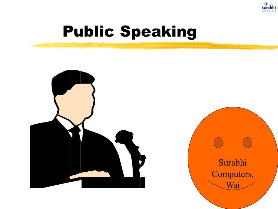 Public Speaking Surabhi Computers, Wai