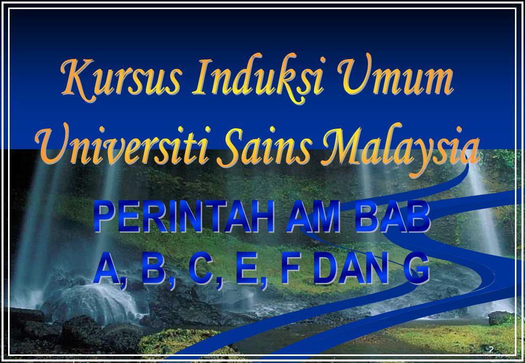 1 Dewan kuliah SK01 Taklimat Bimbingan PTK © Unit Pengambilan & Pembangunan Staf, BPSM&P, Jabatan Pendaftar USM