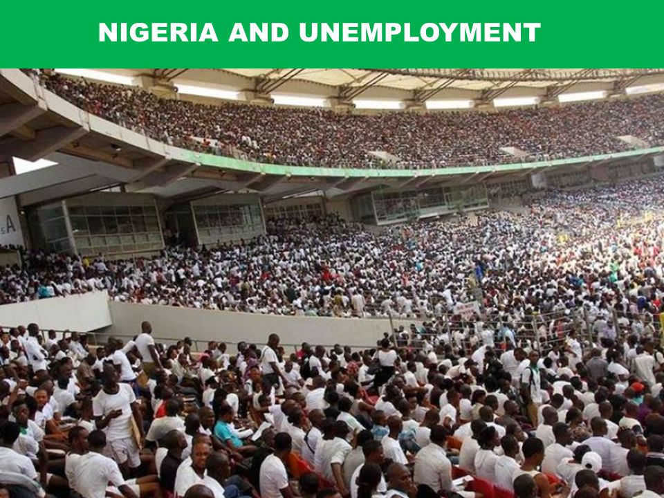 NIGERIA AND UNEMPLOYMENT
