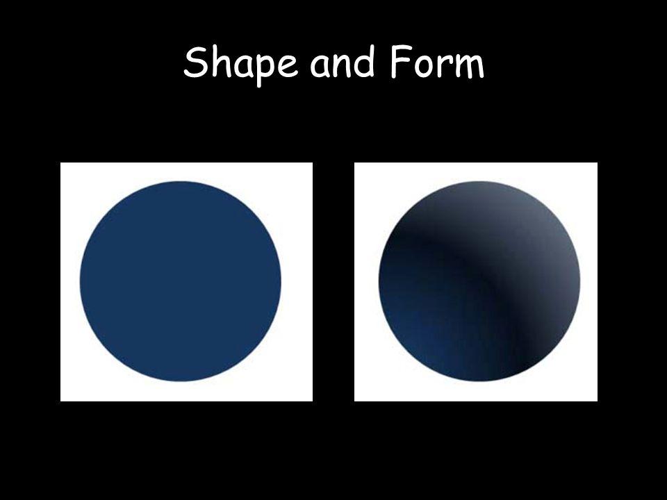 Shape and Form